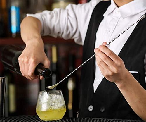 BarSoul Black Boston für professionelle Bartender und Home Bar, inkl. 457 ml und 728 oz Dosen, Sieb, Messbecher, Stößel, Rührlöffel und Ausgießer (9 Stück), 2, 2