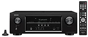 Denon AV Receiver Audio & Video Component Receiver, Black (AVRS530BT)