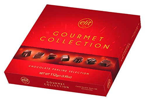 Elit - Gourmet Collection - Chocolate Praline Selection in Red Box (112g / 3.95oz)