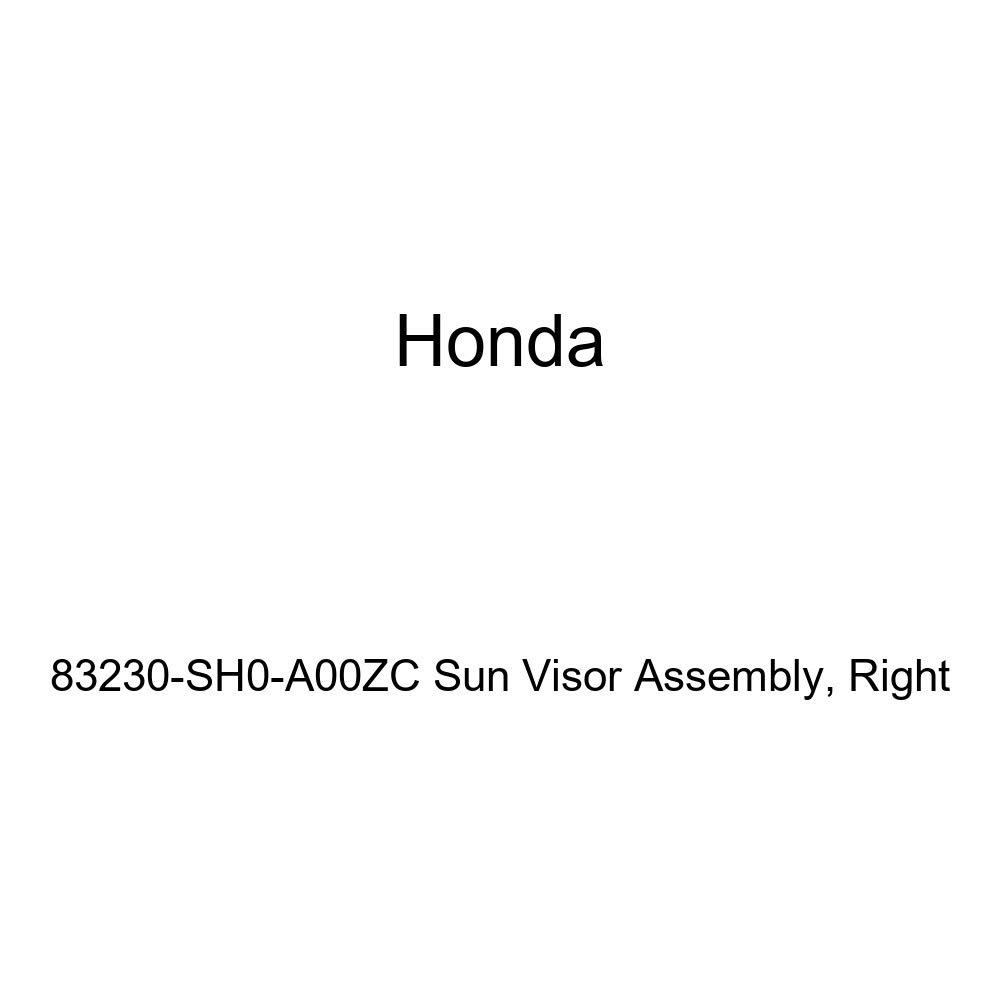 Right Honda Genuine 83230-SH0-A00ZC Sun Visor Assembly