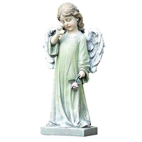 Incroyable Napco Commemorative Garden Statue, Weeping Angel