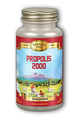Premier One Propolis 2000 Mg Mineral Supplements, 90 Count