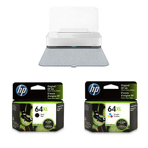 HP Tango X Smart Home Printer with Indigo Linen cover – Designed for your  Smartphone with Remote Wireless Printing with XL High Yield Ink Cartridges