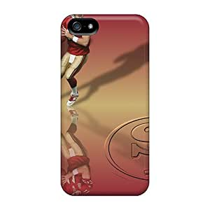 Iphone 5/5s VUR11428zctX Customized Nice San Francisco 49ers Pictures High Quality Hard Cell-phone Case -JoanneOickle