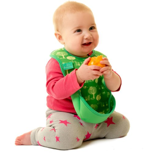 Bibetta Ultrabib Baby Bib (Green Owl) by BabyCenter (Image #11)