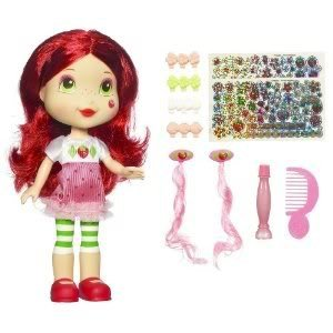 4KIDS Toy / Game Strawberry Shortcake Sweet Surprise Doll With Make-Up, Hair Extensions & Fun Sticker Accessories
