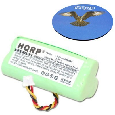 HQRP Battery Pack compatible with Motorola SYMBOL LS4278 LS-4278 LS4278-M Cordless Bar Code Scanner plus HQRP Coaster