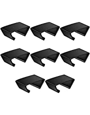 8 PCS Outdoor Patio Wicker Furniture Clips Sectional Sofa Rattan Furniture Clamps Chair Fasteners Connect The Sectional or Module Outdoor Couch Patio Furniture Connect Clamps
