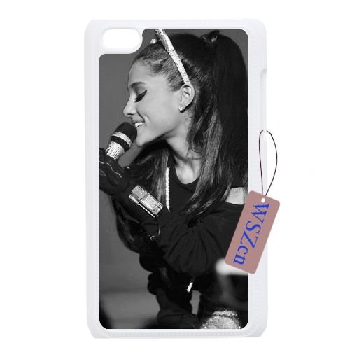 Ariana Grande Phone Case for Ipod Touch 4,diy Ariana Grande phone case