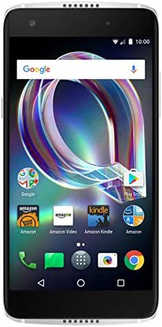 Alcatel Idol 5S - 32 GB - Unlocked (AT&T/T-Mobile) - Crystal Grey - Prime Exclusive - with Lockscreen Offers & Ads
