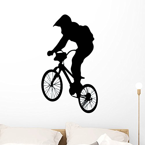 Cheap  Wallmonkeys WM181925 BMX Wall Decal Peel and Stick Graphic (36 in H..