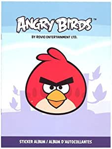 Official Rovio Angry Birds Collector Sticker 50 Pack Box 8 Stickers Per Pack