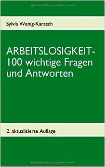Book Arbeitslosigkeit- 100 Wichtige Fragen Und Antworten