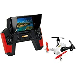 "TDR Robin 5.8G FPV with Built-in 4.3"" LCD and Pop-up Sunshade 2MP 720P HD Camera and 4G MicroSD RC Drone Quadcopter RTF"