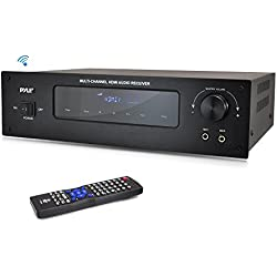 Pyle PT592A 5.1 Channel Home Theater AV Receiver, BT Wireless Streaming (HDMI & 3D HDTV Pass-Through)