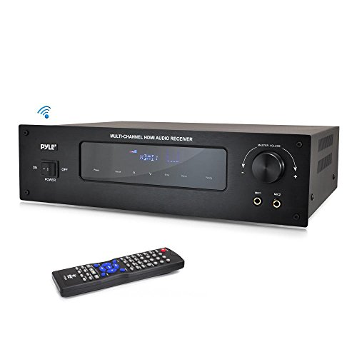 Price comparison product image Pyle PT592A 5.1 Channel Home Theater AV Receiver,  BT Wireless Streaming (HDMI & 3D HDTV Pass-Through)