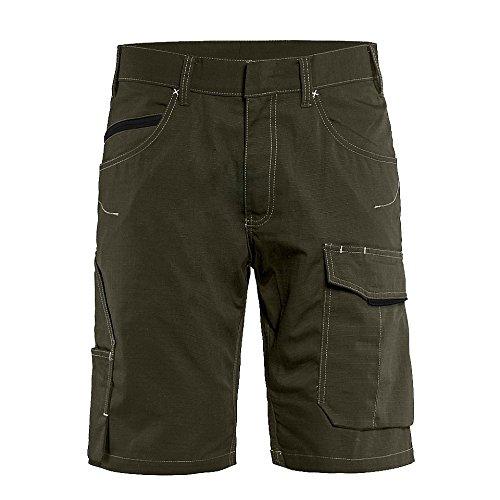 Blaklader 149913304599C54 Service Shorts Size C54, Olive Green/Black by Blaklader (Image #1)