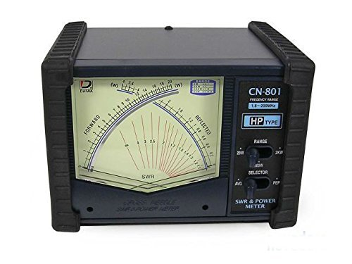 Daiwa Original CN-801HP 1.8-200 MHz Cross Needle SWR / Power Meter 20/200/2000W - (Cross Needle)