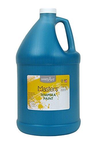 Handy Art Little Masters Tempera Paint Gallon, Turquoise