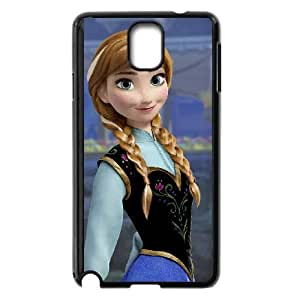 Samsung Galaxy Note 3 Black phone case Fashion colorful art Frozen Disney Cartoon Elsa and Anna DSY0641158