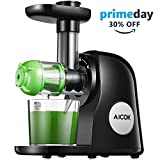 Juicer Machines, Aicok Slow Masticating Juicer Extractor Easy to Clean, Quiet Motor