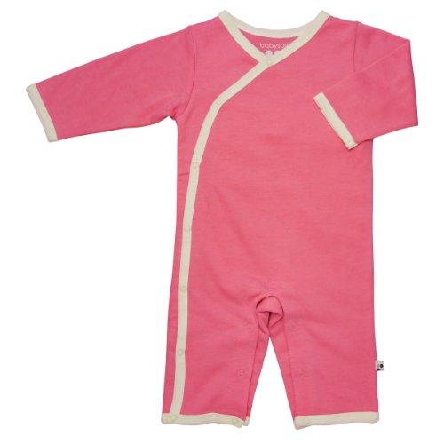 Piece 4 Transmission (Babysoy Kimono One Piece (Baby) - Pink Lemonade-3-6 Months)