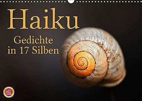 Amazoncom Haiku Gedichte In 17 Silben Wandkalender