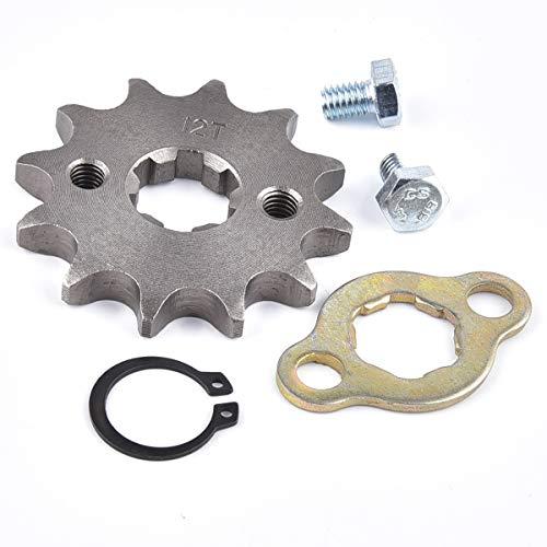 (428 12T 17mm Front Engine Sprocket For 50cc 70cc 110cc 125cc 140cc 160cc ATV Dirt Bike Quad TaoTao Roketa Sunl)