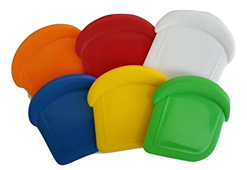 Norpro My Favorite Nylon Pot & Pan Scraper - Choose Your Own Color! (6, Combo (All 6 Colors)) by Norpro Kitchen