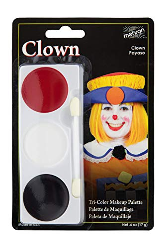 Mehron Makeup Tri-Color Halloween Makeup Palette -