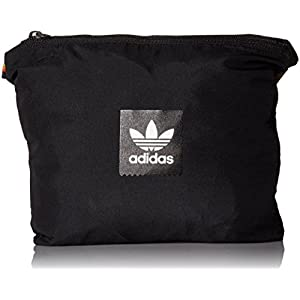 adidas Originals Men's Skateboarding Hip Packable Jacket, Black, L