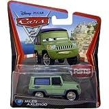 Cars 2 minicar 17 Miles Axelrod 6644e [Disney CARS2 die-cast Mattel US import toys]