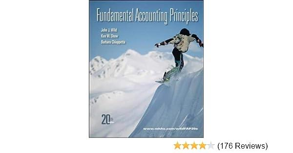 Fundamental Accounting Principles 20th Edition