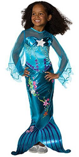 Magical Mermaid Kids Costume (fits 5-7 years with Bracelet for Mom) - Magical Girl Costume
