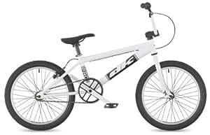 "DK Pro 2011 BMX Bike, 20"" White with white rims"