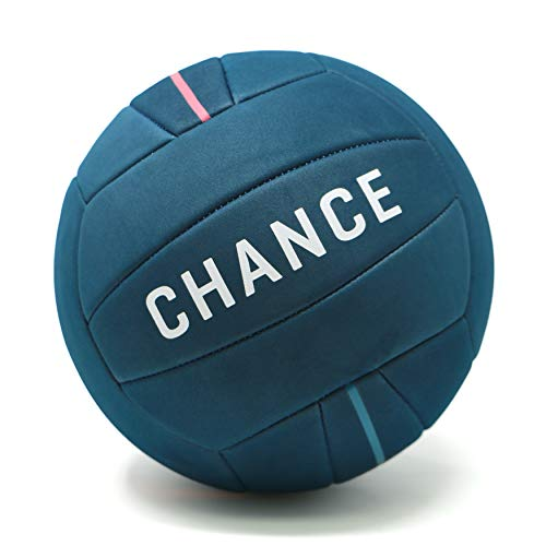 Chance Soft Volleyball - Waterproof Indoor/Outdoor Volleyball for Pool, Beach Volleyball & Indoor Volleyball Ball Play. Recreational Training Ball for All Ages (Size 5) (Best Beach Volleyball Ball)