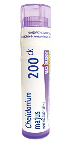 Boiron Chelidonium Majus 200CK Homeopathic Medicine for Indigestion and Nausea, 80 Count
