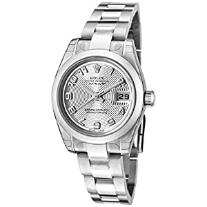 Best Epic Trends 414IMDfw9wL._SS300_ Rolex Women's Datejust Automatic Silver Concentric Dial Oyster Stainless Steel