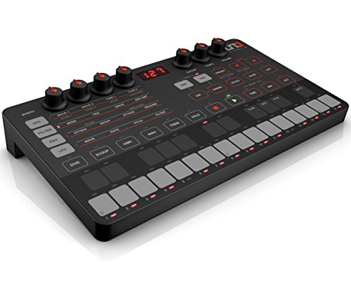 IK Multimedia UNO Synth portable monophonic analog synthesizer ()