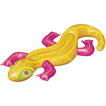 66 water sports inflatable yellow lizard - Amazon inflatable swimming pool toys ...