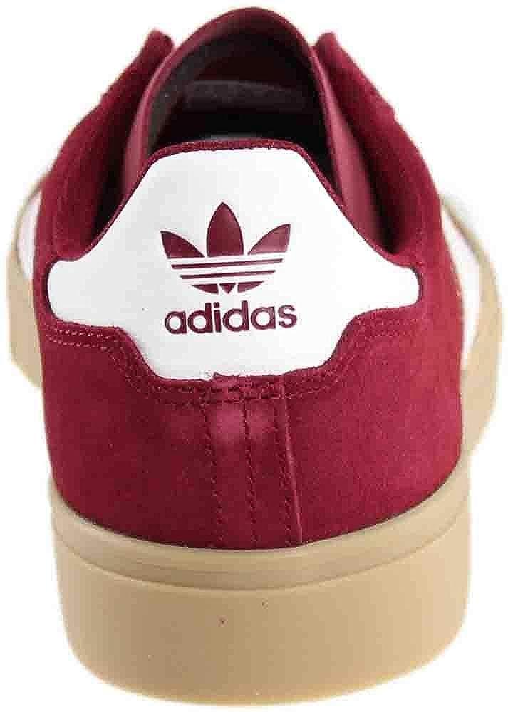 uk availability 3d45c e0b54 Amazon.com  adidas Campus Vulc 2.0 ADV (Collegiate BurgundyWhiteGum 4)  Mens Skate Shoes-9  Skateboarding