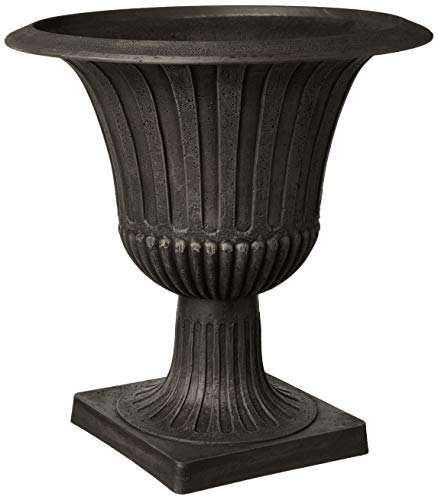 - Arcadia Garden Products PSW G50BK Worthington Urn, 20 by 21