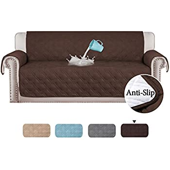 Amazon Com Rhf Anti Slip Chair Cover For Leather Sofa