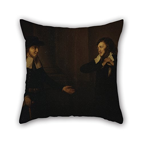 Venice Futon (Artistdecor Oil Painting Herbert Stoppelaer - Shylock And Tubal From 'The Merchant Of Venice' Pillow Covers 20 X 20 Inches / 50 By 50 Cm Gift Or Decor For Teens,her,relatives,home Theater,dinning R)