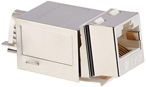 (C2G/Cables to Go 35217 90° Cat6 RJ45 UTP Shielded Keystone Jack)