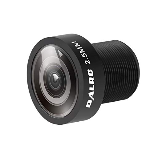 Crazepony FPV CCD Camera Lens 2.5mm Wide Angle 120 Degrees Low Distortion