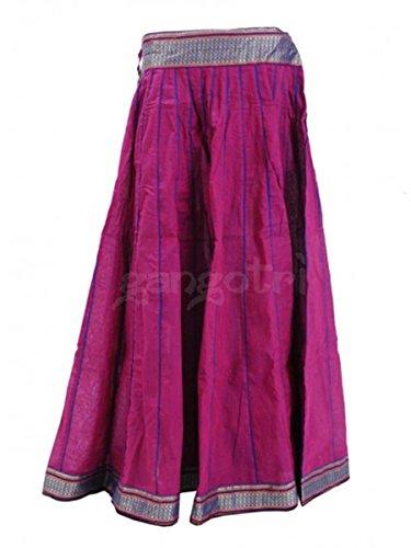 Girls Skirt 40 Panel Light Purple
