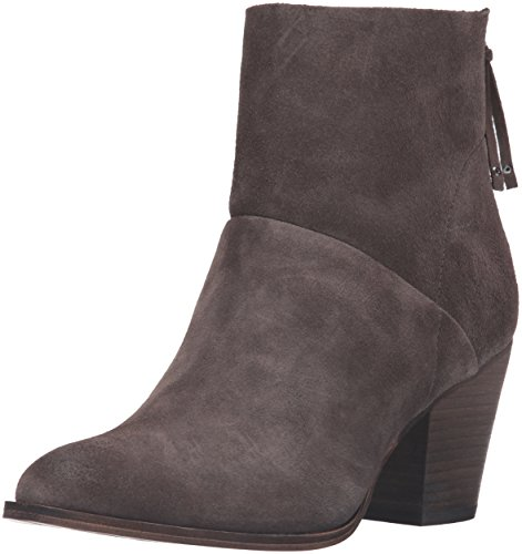 Chinese Laundry WoMen Kind Heart Boot, Black Suede Smoke Grey