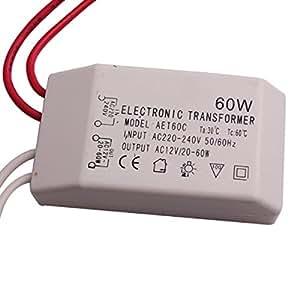 Nuevo transformador electrónico de 60 W para lámpara de
