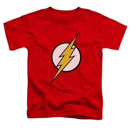 Flash Kids Symbol T-Shirt - Toddler 4T, red